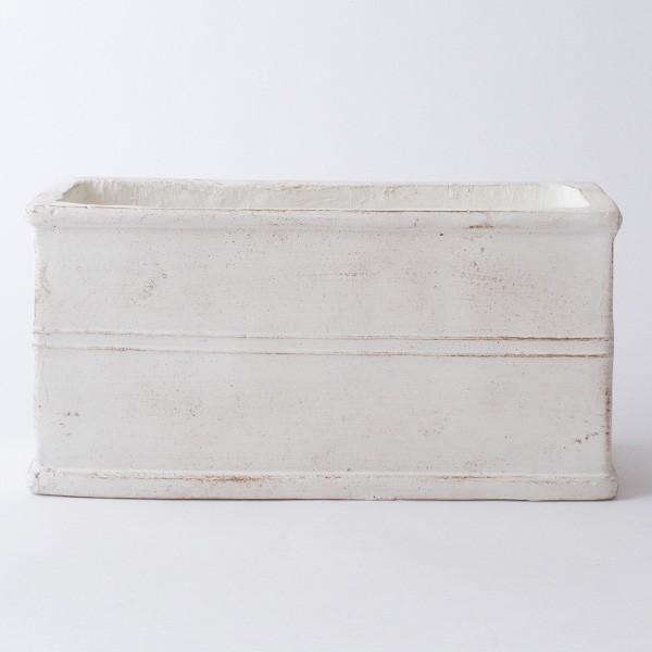 プランター おしゃれ 植木鉢 グラスファイバー製 ボヌールオリーブ・プランター 約W29×D12×H14cm|hana-kazaru|11