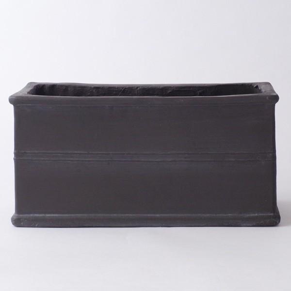 プランター おしゃれ 植木鉢 グラスファイバー製 ボヌールオリーブ・プランター 約W29×D12×H14cm|hana-kazaru|05