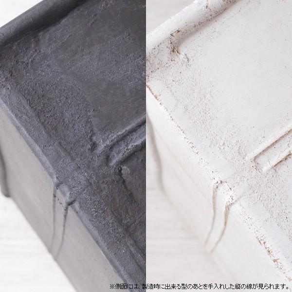 プランター おしゃれ 植木鉢 グラスファイバー製 ボヌールオリーブ・プランター 約W29×D12×H14cm|hana-kazaru|07