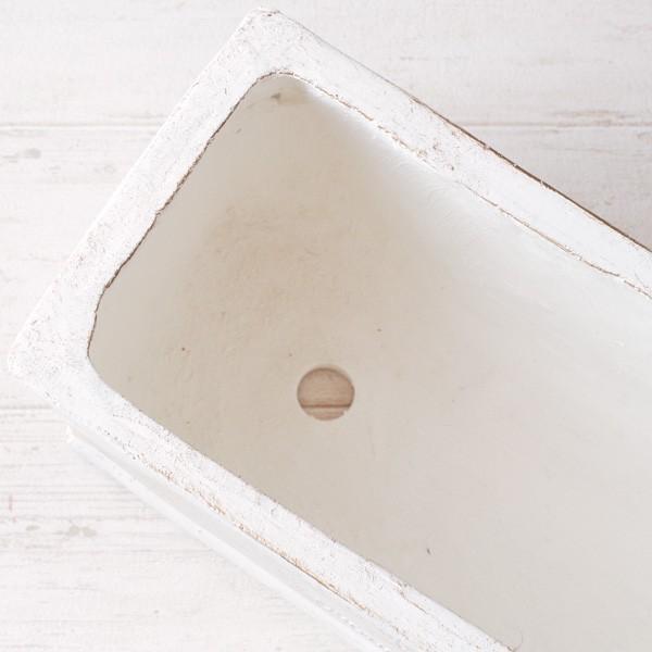 プランター おしゃれ 植木鉢 グラスファイバー製 ボヌールオリーブ・プランター 約W29×D12×H14cm|hana-kazaru|09