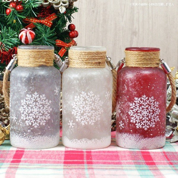 フラワーベース 花瓶 ガラス スノーフレークガラスボトル S|hana-kazaru
