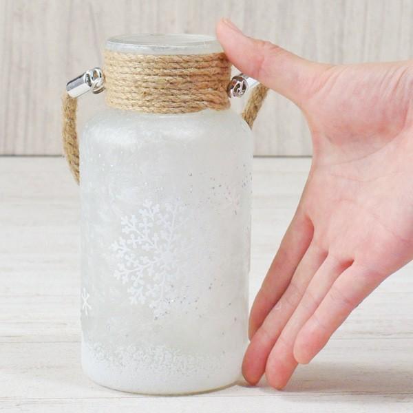 フラワーベース 花瓶 ガラス スノーフレークガラスボトル S|hana-kazaru|06