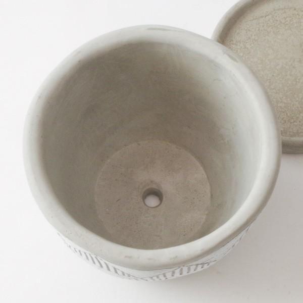 プランター おしゃれ 植木鉢 トライアングルレリーフポット 約4号 hana-kazaru 11