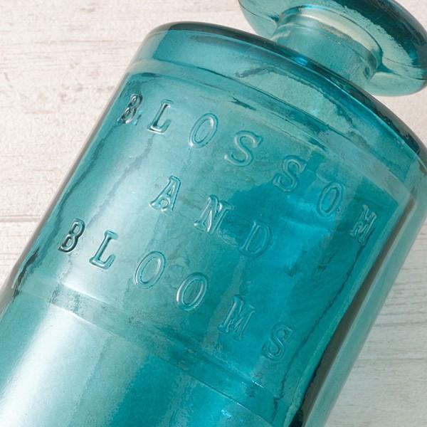 フラワーベース 花瓶 ガラス バレンシア・リサイクルガラスベース7|hana-kazaru|11