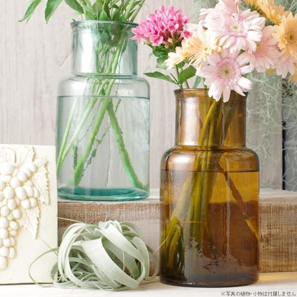 フラワーベース 花瓶 バレンシア・リサイクルガラスベース6|hana-kazaru