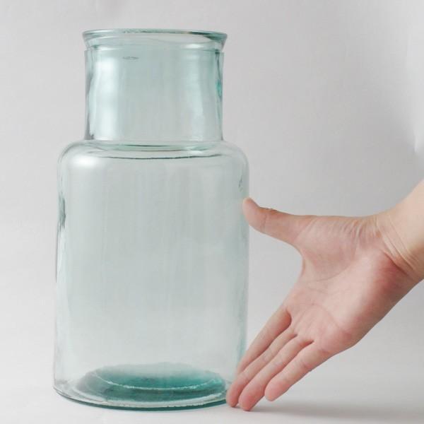 フラワーベース 花瓶 バレンシア・リサイクルガラスベース6|hana-kazaru|13