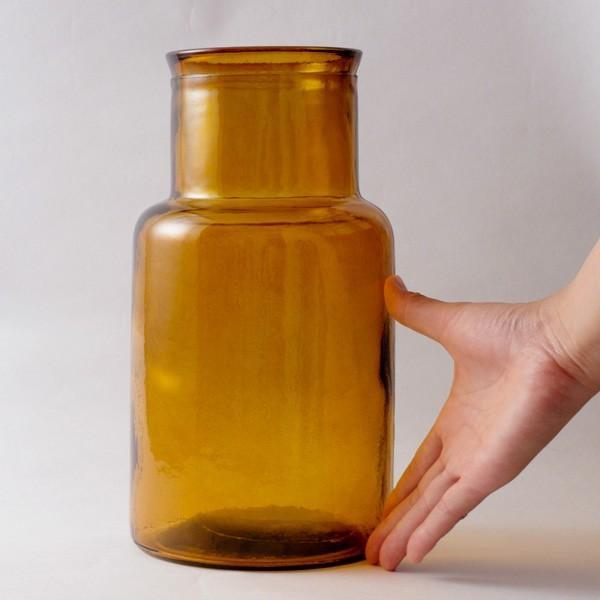フラワーベース 花瓶 バレンシア・リサイクルガラスベース6|hana-kazaru|07