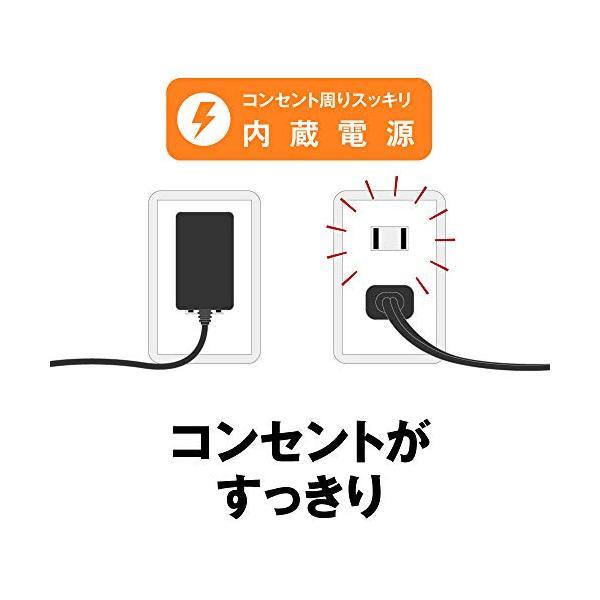 BUFFALO Giga対応 金属筺体 電源内蔵 8ポート ブラック スイッチングハブ 日本メーカー LSW5-GT-8・・・|hanacostore2020|04