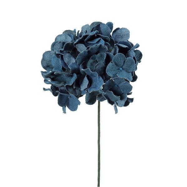 RoomClip商品情報 - 即日  造花 アスカ A-39614 デニムハイドランジアピック ブルー 72-39614-9 00   造花 花材「あ行」 あじさい 紫陽花