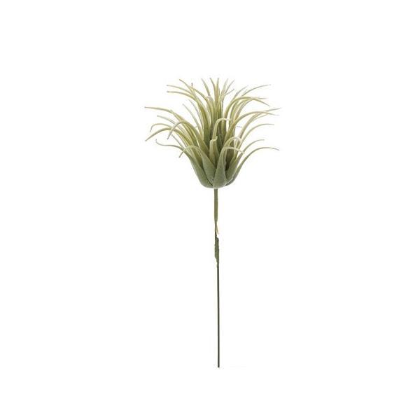 造花 MAGIQ 東京堂  ティランジア ミニ ライトグリーン FG009752-023 造花葉物、フェイクグリーン 多肉植物