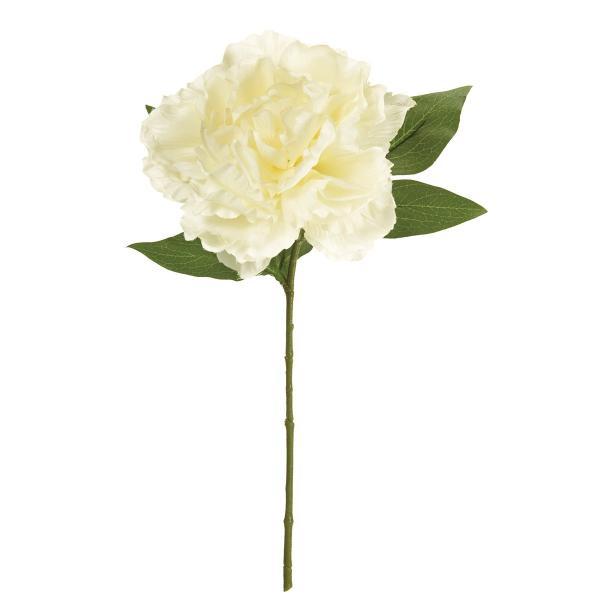 造花 MAGIQ 東京堂  プライマルピオニー #1 CR WH FM002232-001 芍薬 牡丹 造花 花材「さ行」 シャクヤク ボタン ピオニー