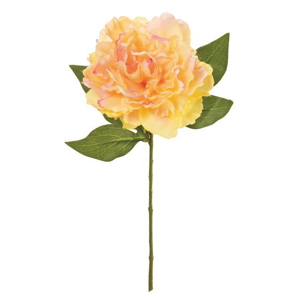 造花 MAGIQ 東京堂  プライマルピオニー #6 YL PE FM002232-006 芍薬 牡丹 造花 花材「さ行」 シャクヤク ボタン ピオニー
