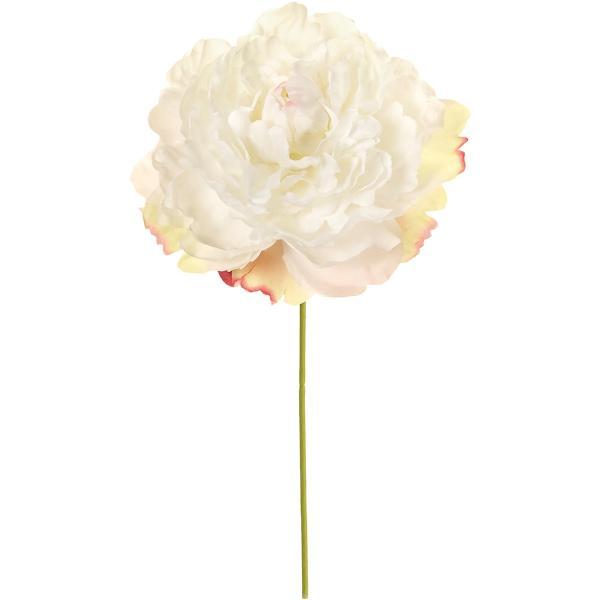 造花 MAGIQ 東京堂  ラリーピオニーピック #1 ホワイト FM003349-001 芍薬 牡丹 12本 造花 花材「さ行」 シャクヤク ボタン ピオニー