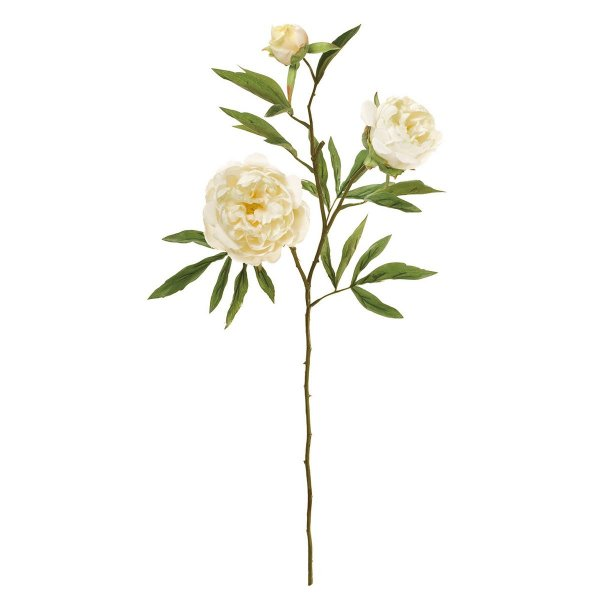 造花 MAGIQ 東京堂  アントワープピオニー #37 クリーム FM001359-037 造花 花材「さ行」 シャクヤク ボタン ピオニー