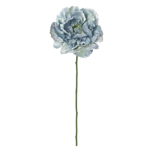 造花 MAGIQ 東京堂  デューブライトピオニー #5 ブルー FM004864-005 造花 花材「さ行」 シャクヤク ボタン ピオニー