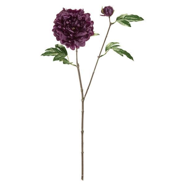 大特価 造花 MAGIQ 東京堂  ヴィオラピオニー PURPLE パープル FX009352 造花 花材「さ行」 シャクヤク ボタン ピオニー