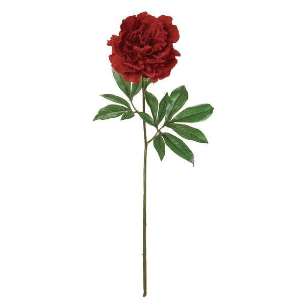 造花 MAGIQ 東京堂  プレシャスピオニー #3 RED レッド FM000817-003 造花 花材「さ行」 シャクヤク ボタン ピオニー