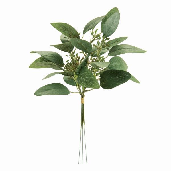 即日 造花 MAGIQ 東京堂  細葉ユーカリバンドル 3本 GREEN FG000761 造花葉物、フェイクグリーン ユーカリ