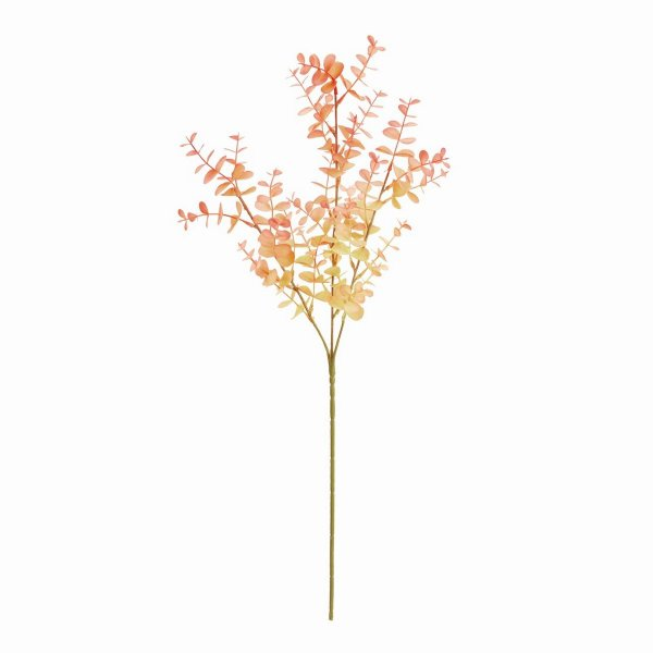 造花 MAGIQ 東京堂  クラリティユーカリスプレー PINK FG005211-002 造花葉物、フェイクグリーン ユーカリ