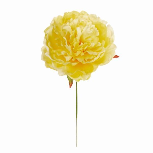 造花 MAGIQ 東京堂  ピオニーピック 3本 #4 YELLOW FM009181-004 造花 花材「さ行」 シャクヤク ボタン ピオニー