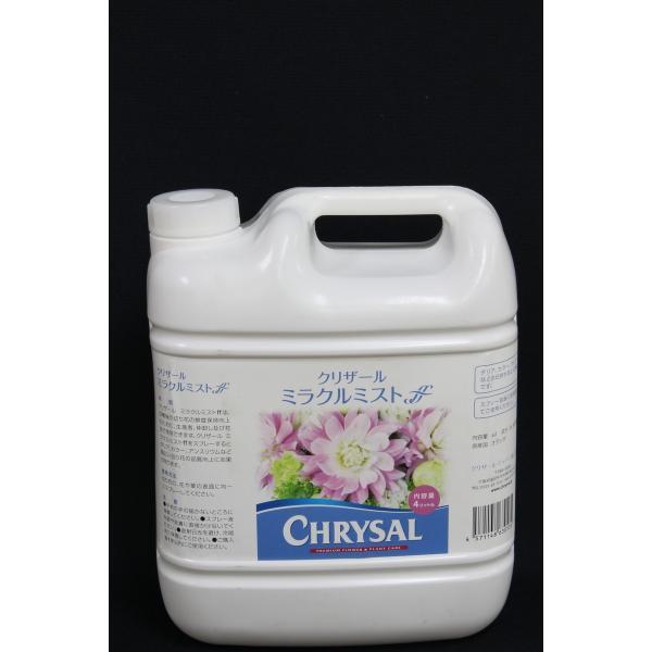 クリザール ミラクルミストffスプレー液 4L 切花栄養剤 促進剤 クリザール