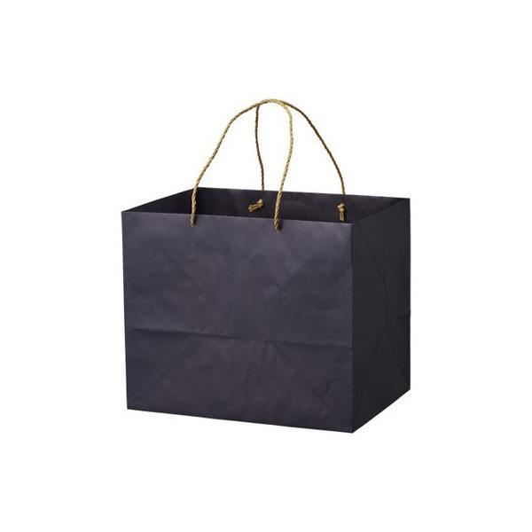 HOSHINO キャリーバッグ ZB-L No.4 ネイビー  314281 25枚 ラッピング袋 梱包袋 手提げ袋