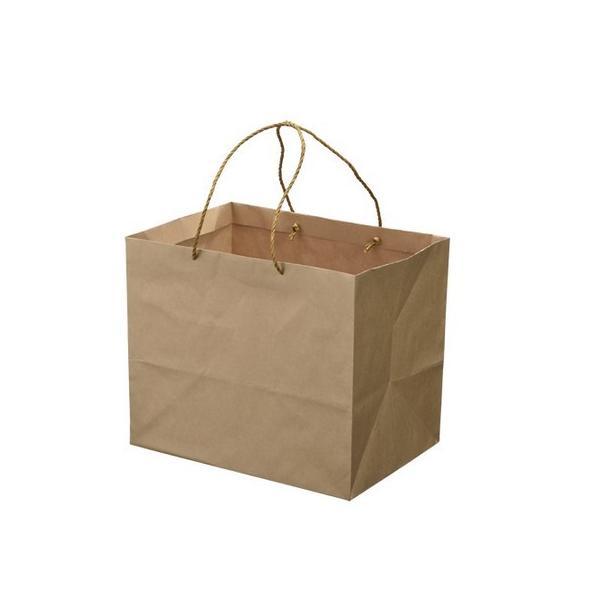 HOSHINO キャリーバッグ K−L NO.3 ブラウン  314136 100枚 ラッピング袋 梱包袋 手提げ袋