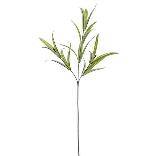 造花 YDM ドラセナリーフスプレー グリーン FG4444-GR 01   造花葉物 ドラセナ|hanadonya