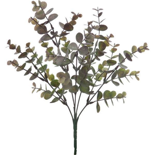即日 造花 YDM ユーカリブッシュ FG-4909BUR 造花葉物、フェイクグリーン ユーカリ