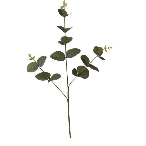 即日 造花 YDM ユーカリX2 グレーグリーン FG-5006-GGR 造花葉物、フェイクグリーン ユーカリ