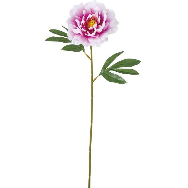 造花 YDM シングルピオニー ラベンダー FF-3010LAV 造花 花材「さ行」 シャクヤク ボタン ピオニー