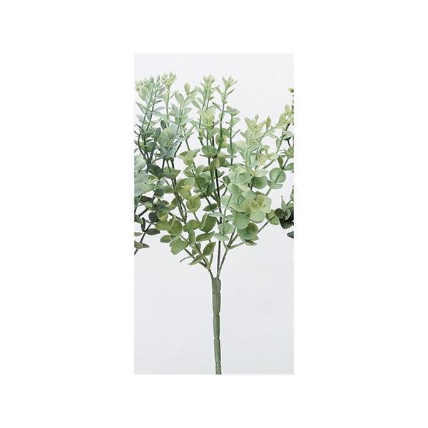 即日 造花 アスカ ユーカリブッシュ ライトグリ−ン A-42725-052B 造花葉物、フェイクグリーン ユーカリ