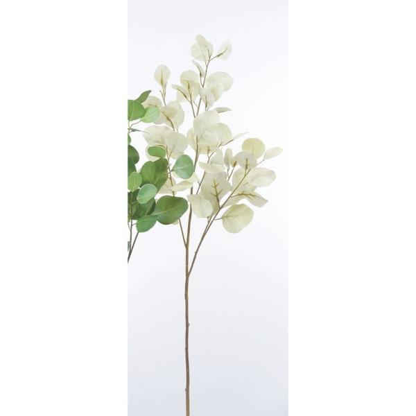 造花 アスカ ユーカリ #063 グレイ A-43163-063 造花葉物、フェイクグリーン ユーカリ