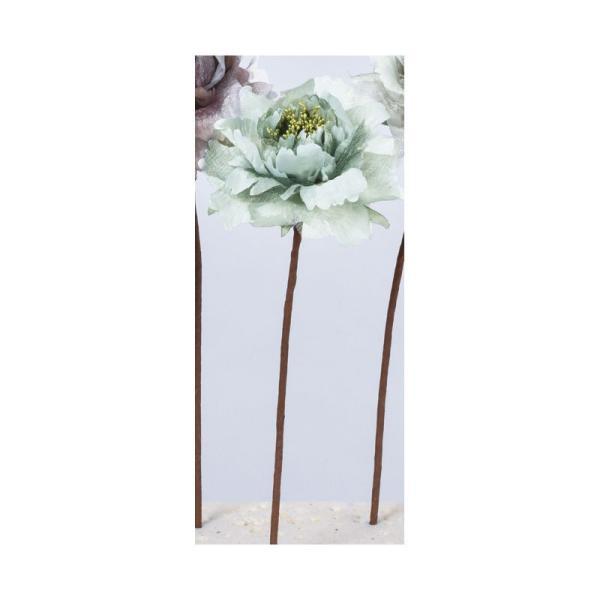 造花 アスカ ピオニーピック #059S シーフォームグリーン A-33766-59S 造花 花材「さ行」 シャクヤク ボタン ピオニー
