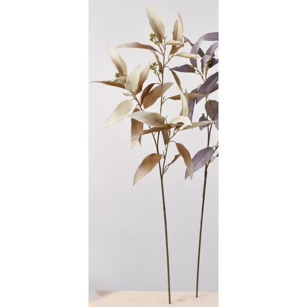 即日 造花 アスカ ユーカリ グレイブラウン A-43607-063B 造花葉物、フェイクグリーン ユーカリ