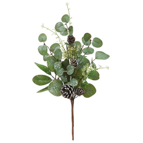 造花 アスカ ユーカリミックスピック   AX69726-000 造花葉物、フェイクグリーン ユーカリ