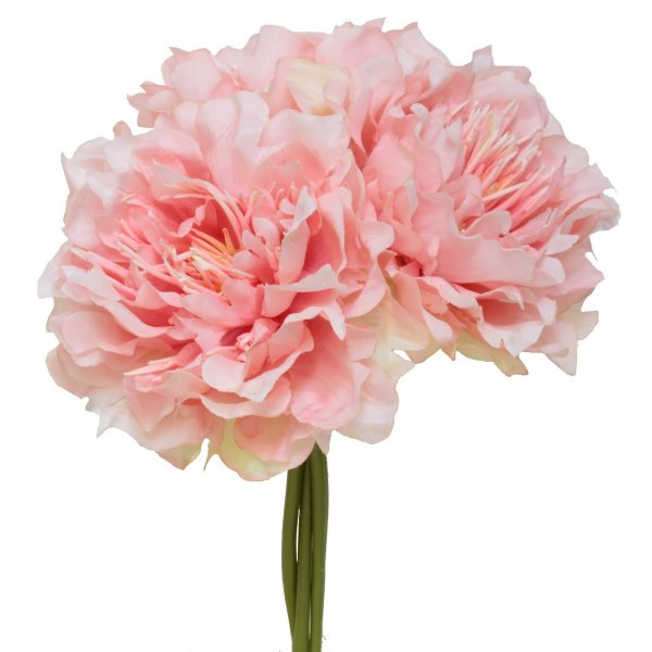 造花 パレ ピオニーバンドル ピンク P-8295-30 芍薬 牡丹 造花 花材「さ行」 シャクヤク ボタン ピオニー
