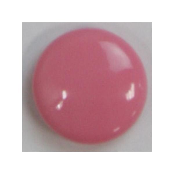 NBK カラーボタン 18mm 6個 ピンク CG3400-18-13 ソーイング資材 ボタン