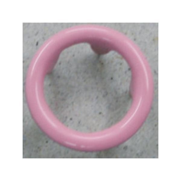 NBK リングスナップボタン 10mm ピンク 6組 F12-56 ソーイング資材 ボタン