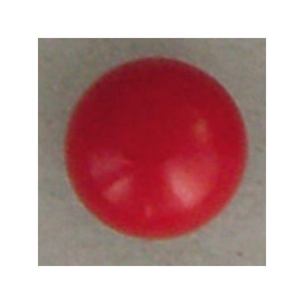 NBK 差し込み型目玉釦 ボタン  2.5mm 1000個 赤 CE421-1000 クラフト 目玉ボタン