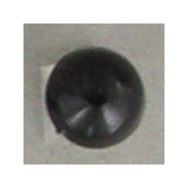 NBK 目玉釦 ボタン  足付き 尿素 4mm 144個 黒 CE140-1-144 クラフト 目玉ボタン