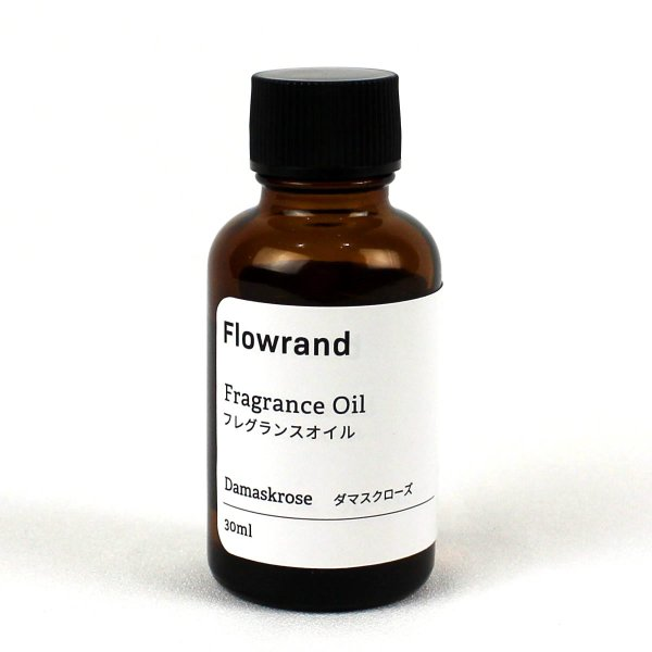 即日 Flowrand ハーバリウム用フレグランスオイル ダマスクローズ 30ml リードディフューザー ハーバリウムディフューザー材料