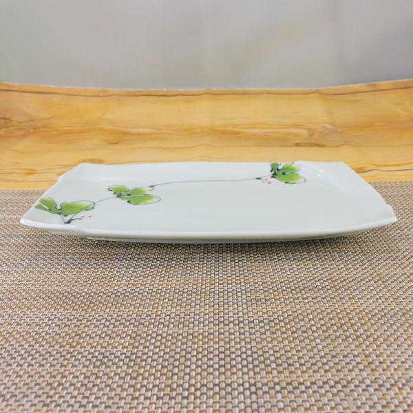 有田焼 渕取角皿 オリジナル商品 陶器 和食器 焼き皿 おしゃれ ラズベリー|hanaemishop|03
