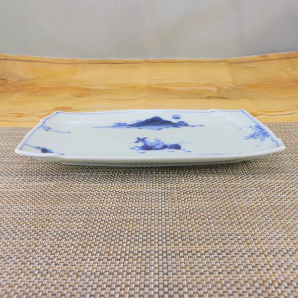 有田焼 渕取 角皿 オリジナル商品 陶器 和食器 焼き皿 焼皿 夢人|hanaemishop|03