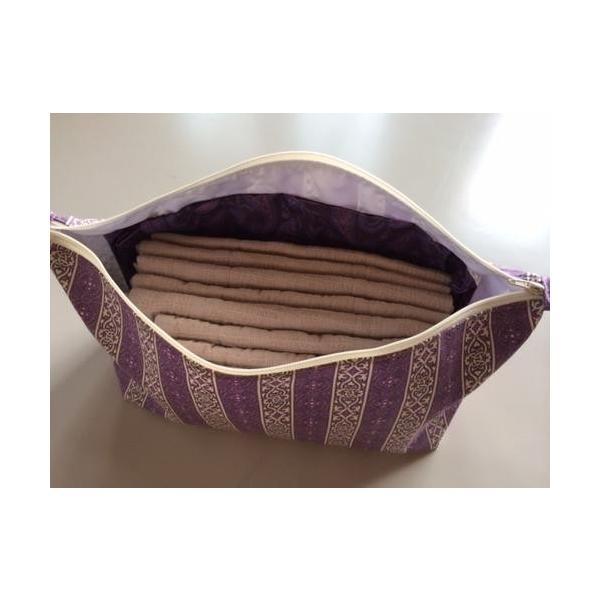布ナプキンポーチ ポーチ 布ナプキン たっぷり入る Lサイズ
