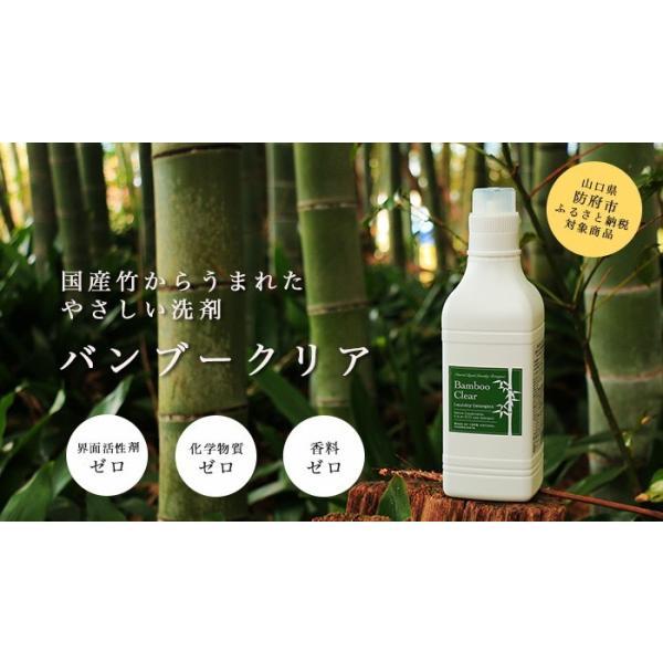 バンブークリア 無添加洗剤  竹 国産 3L詰替パックタイプ hanafu 02