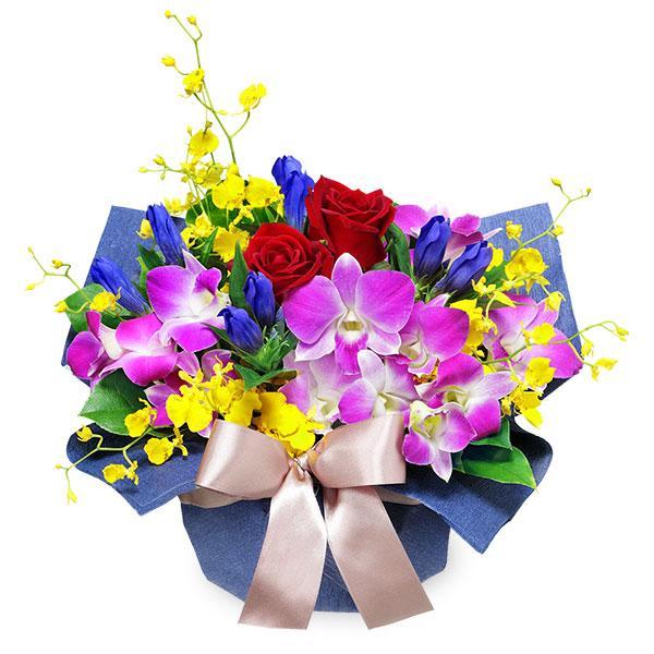 9月のおすすめ -512388(デンファレのアレンジメント)花キューピット商品