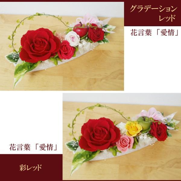プリザーブドフラワー 誕生日 人気の大きなバラのナチュレ|hanaippo|04