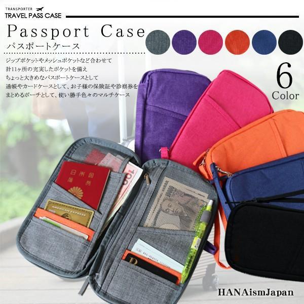 ポイント消化 500円 パスポートケース トラベルポーチ 旅行用品 貴重品ケース セキュリティケース バッグインバッグ pc11 メール便対応 送料無料
