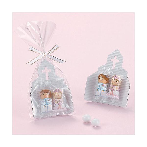 プチギフト お菓子 結婚式配る「チャペルチョコ」 販促 業務用にもCS1220-1073|hanakobo-wedding|02